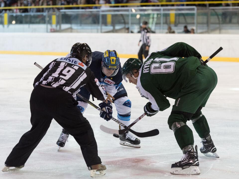 Eishockey, Vinschgau-Cup 2017, Färjestad BK - ERC Ingolstadt
