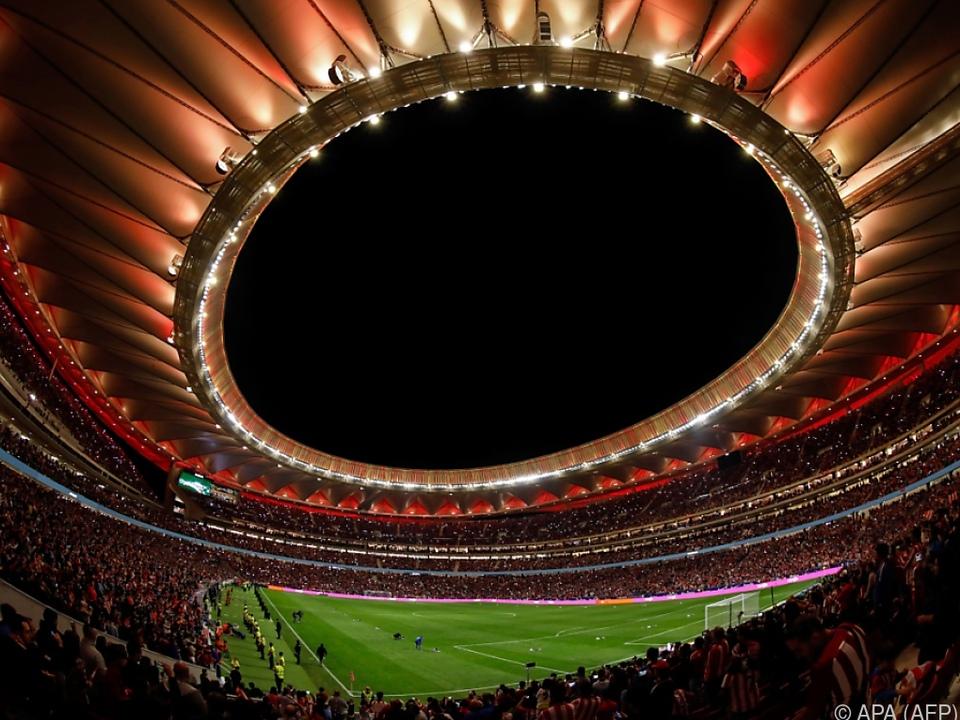 Estadio Metropolitano von Atletico Madrid erhielt den Zuschlag