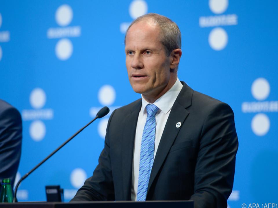 Estlands Finanzminister Toomas Toniste ist mit Griechenland zufrieden