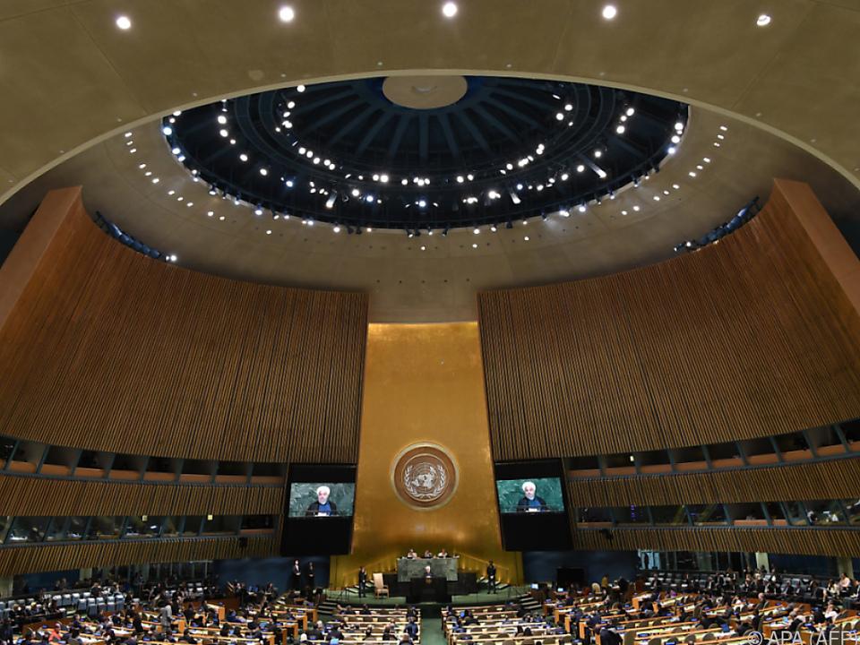 Europäische Einigkeit bei der UNO-Vollversammlung in New York