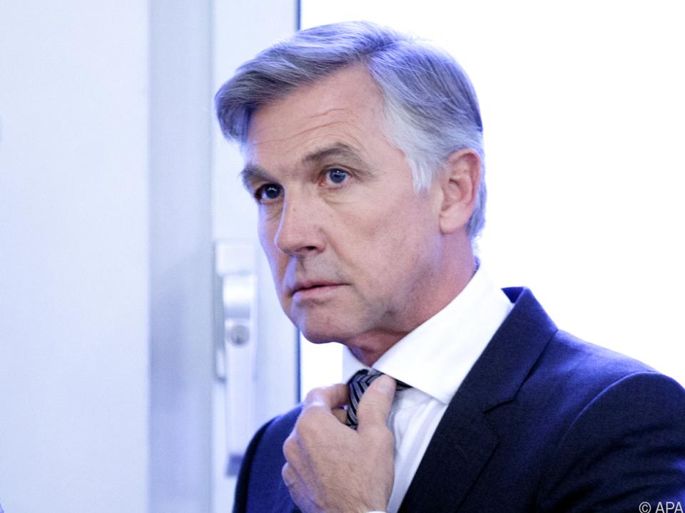 Ex-Lobbyist und FPÖ-Politiker Walter Meischberger