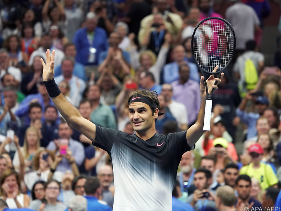 Federer trifft nun auf Del Potro