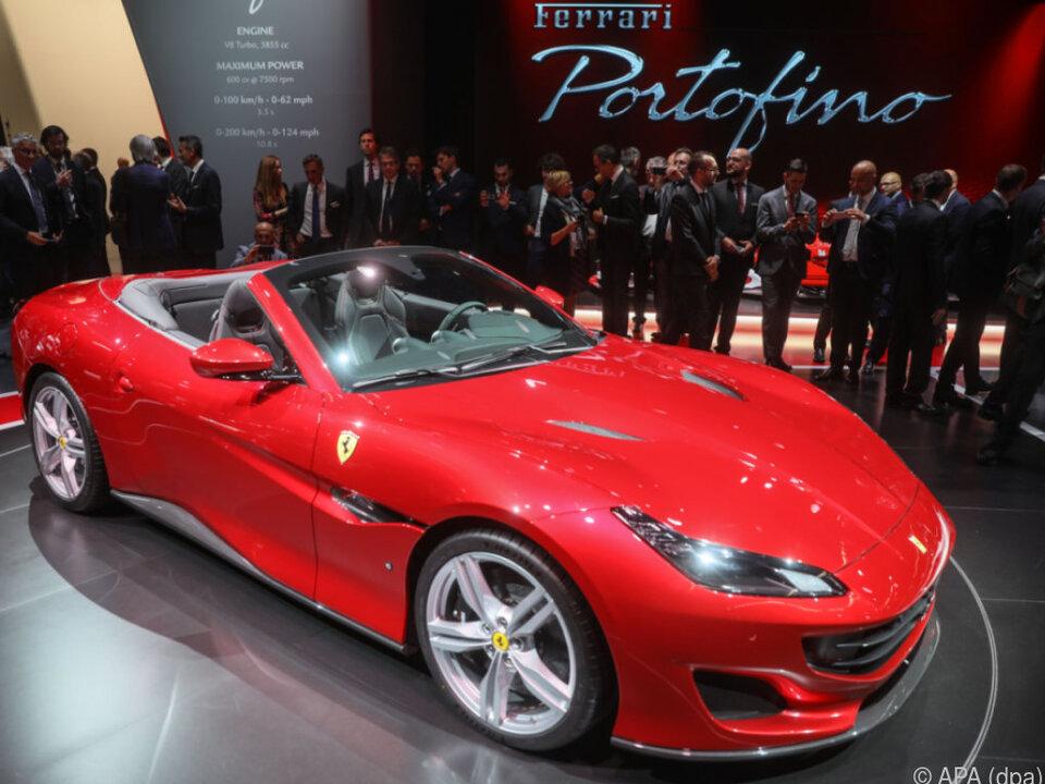 Ferrari stellte zum 70. Geburtstag das Cabrio Portofino vor