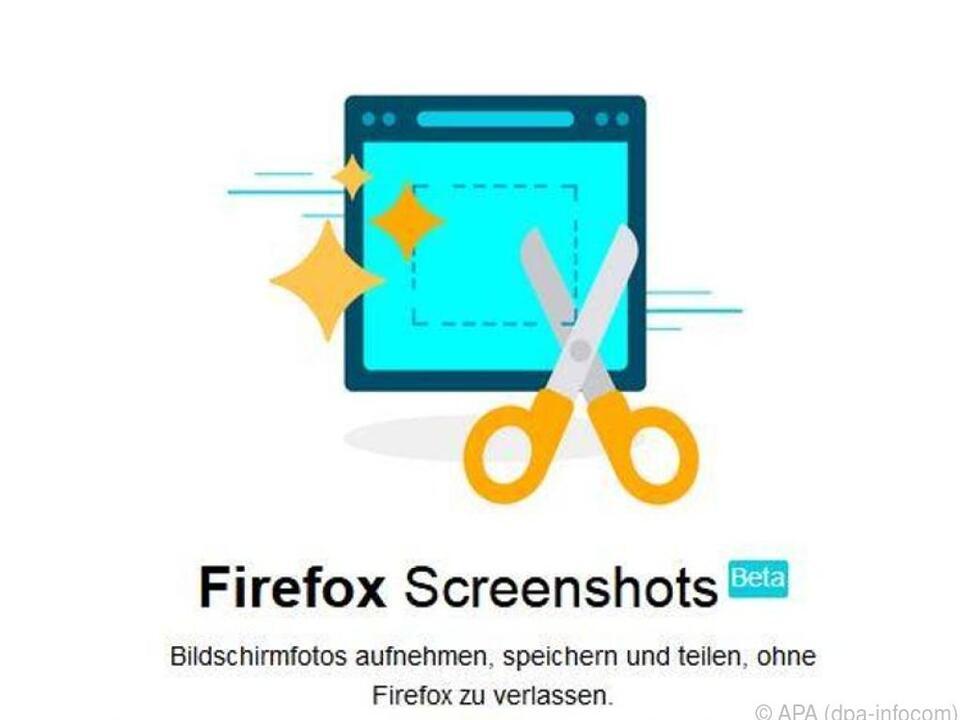Firefox-Nutzer können ihre Screenshots direkt über den Browser machen