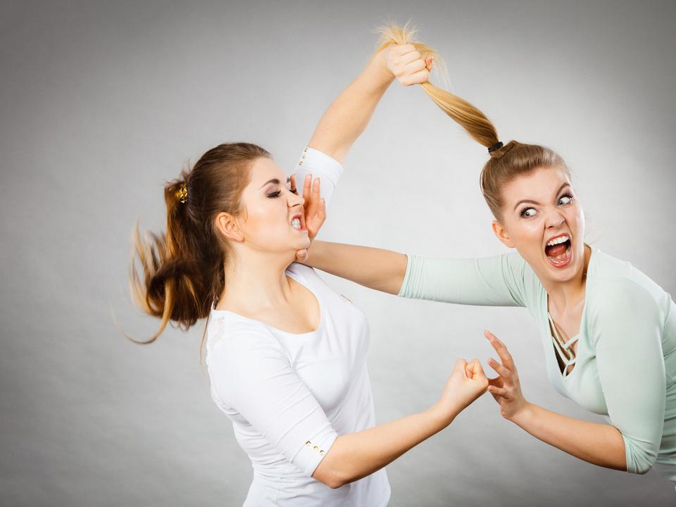 Streit Prügelei Frauen