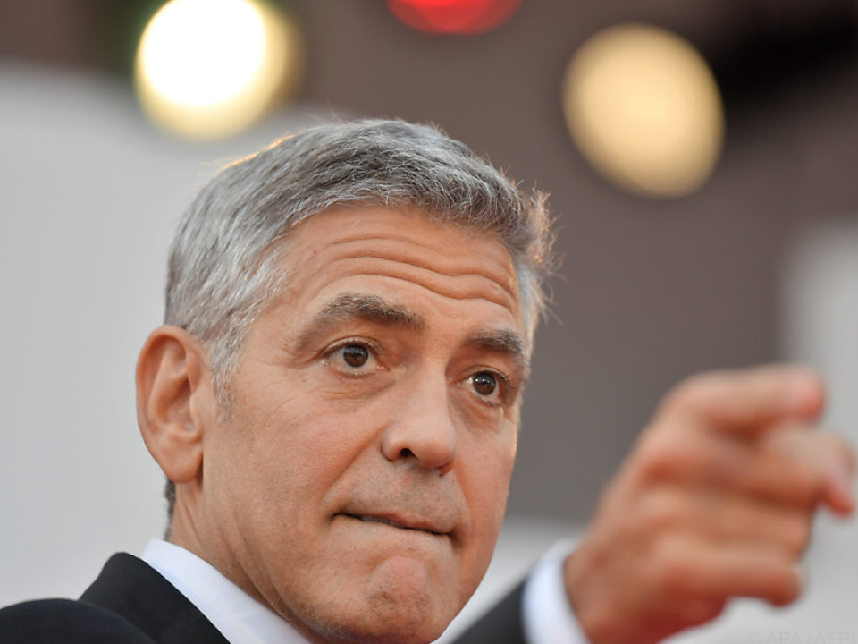 George Clooney bei den Filmfestspielen Venedig