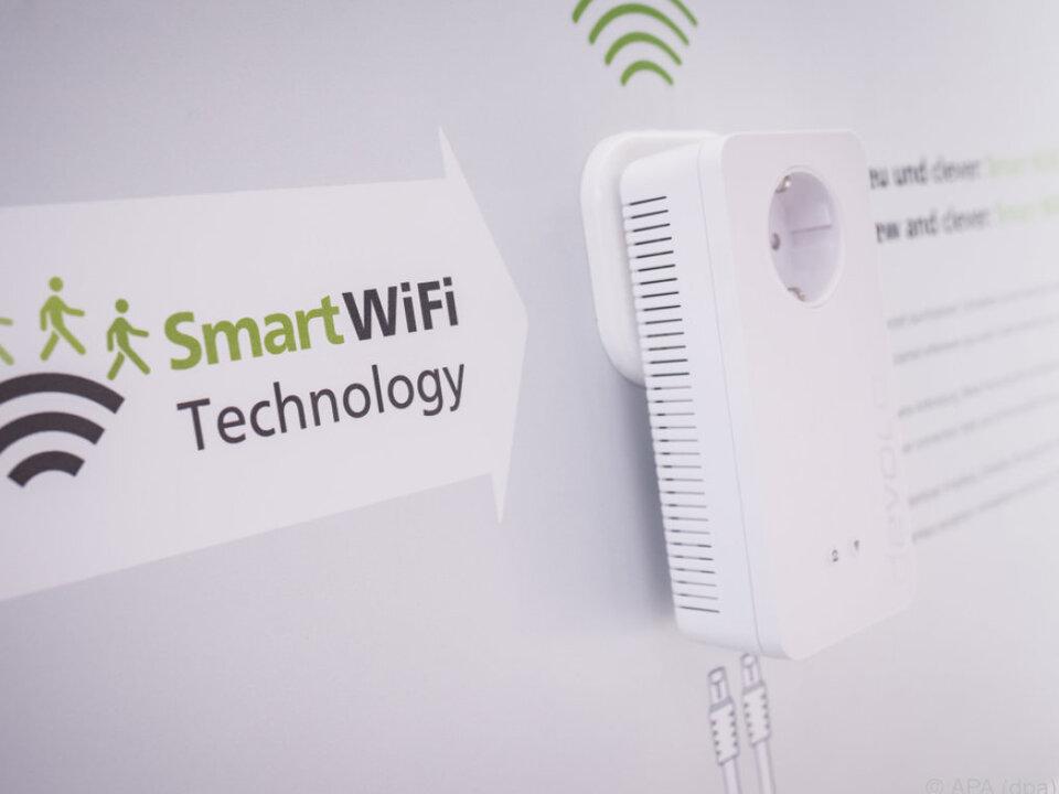 Das Smart Wifi von devolo vernetzt einzelne Zugangspunkte zu Hause