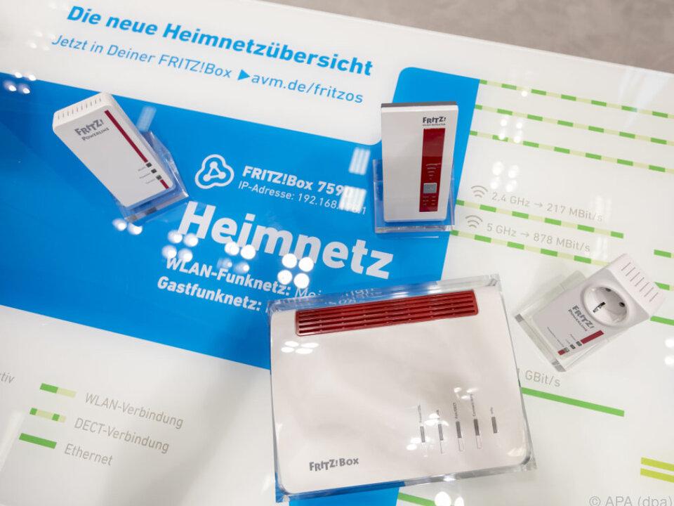 AVM vernetzt seine WLAN-Geräte über die Fritzbox