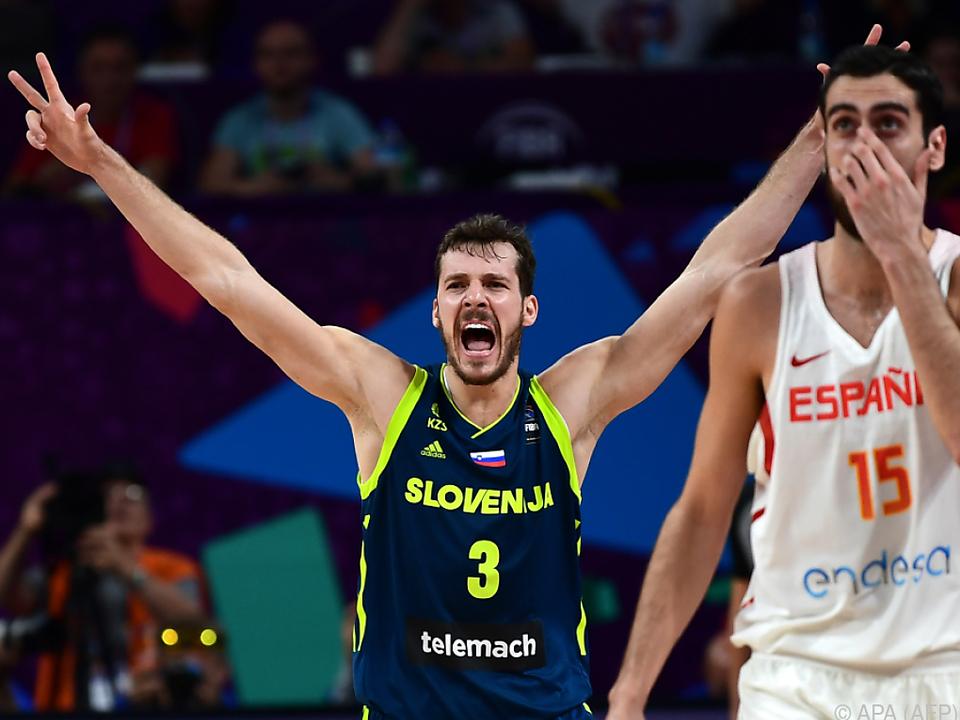 Goran Dragic führte Slowenien zum Sieg