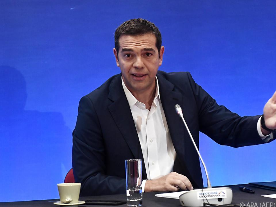 Griechenlands Regierungschef ist optimistisch