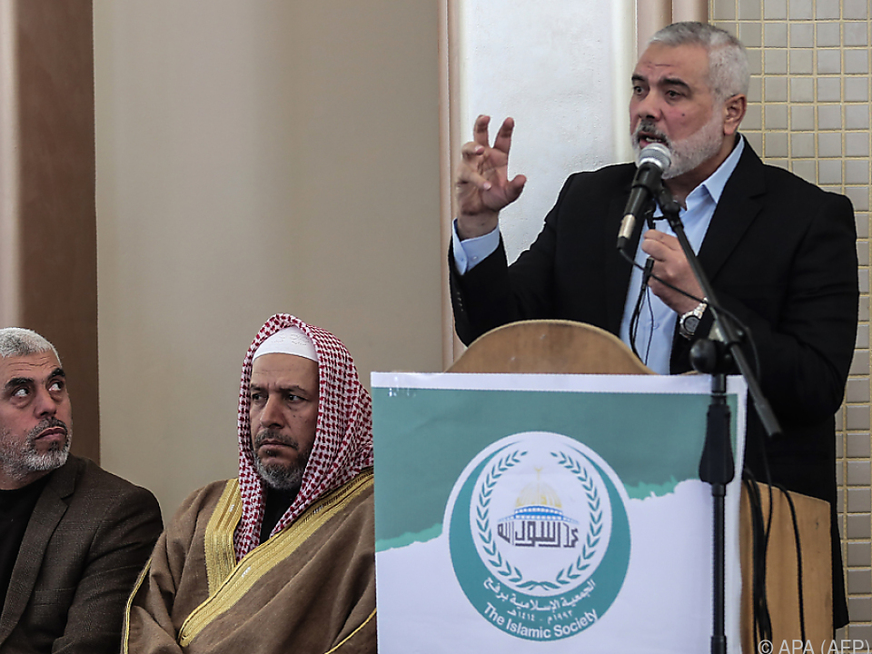 Hamas-Chef Ismail Haniyeh