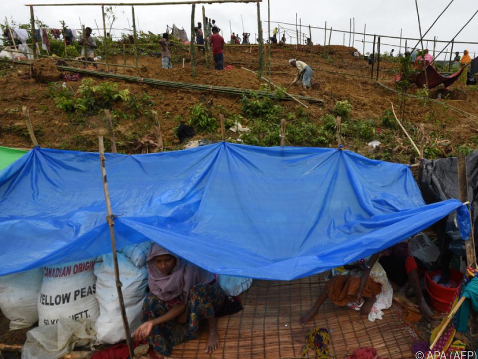Hunderttausende Rohingya verließen das Land
