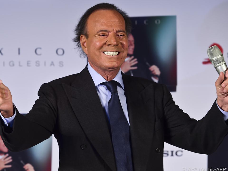 Iglesias hat acht offizielle Kinder