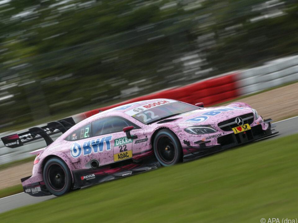 Im zweiten Rennen auf dem Nürburgring lief es für Auer nicht so gut