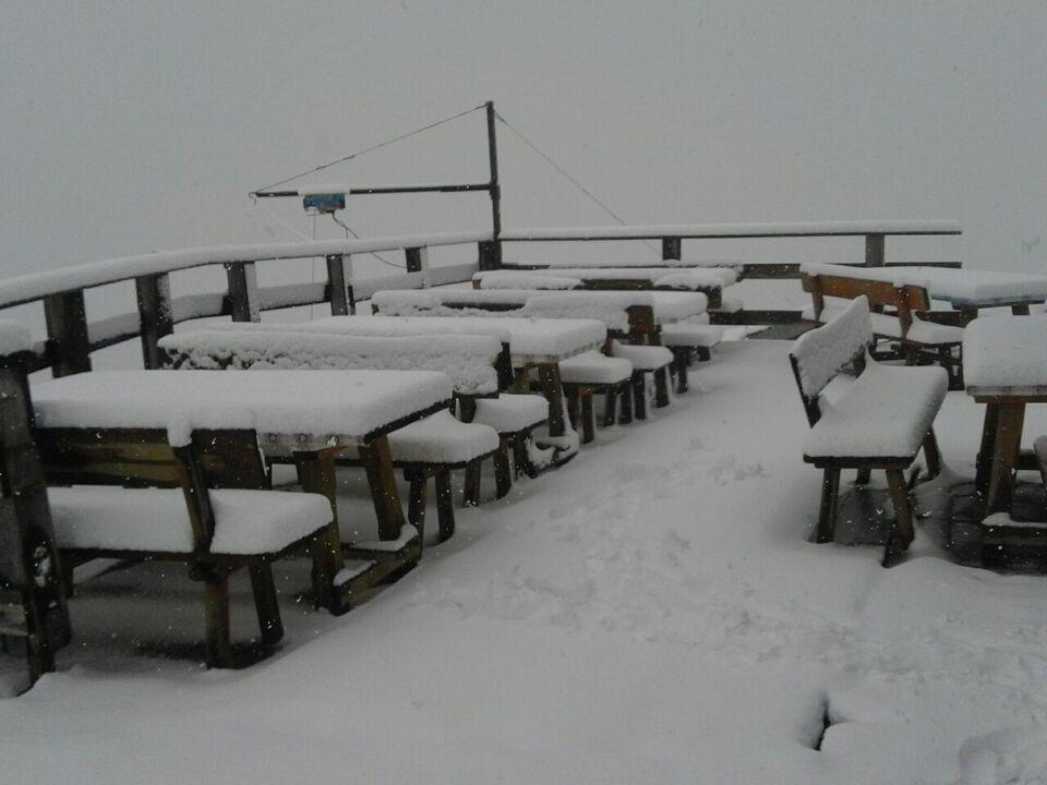 Schnee Magdeburger Hütte