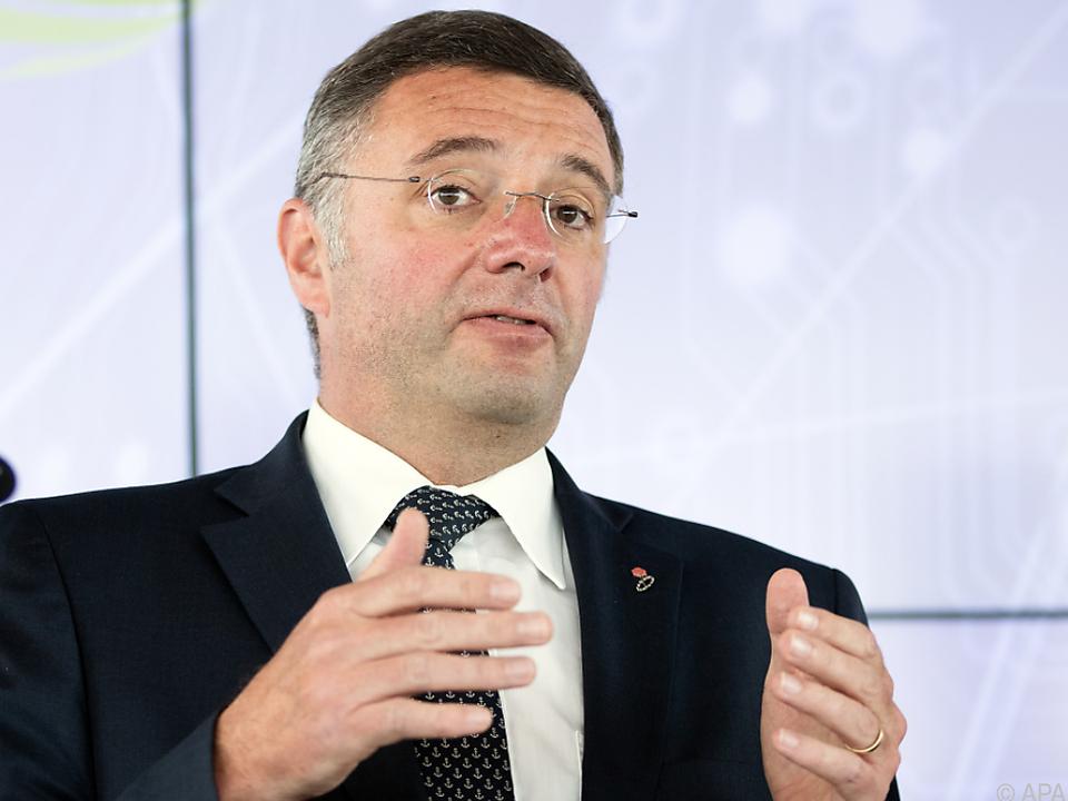Infrastrukturminister Jörg Leichtfried