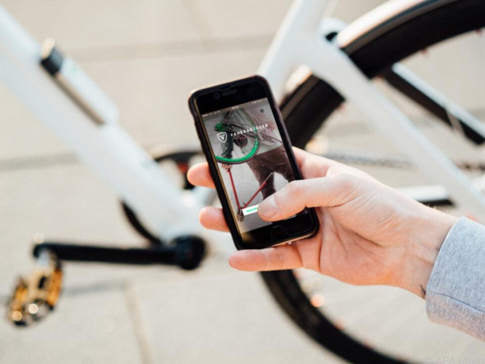 Mittlerweile ist auch das Fahrrad digital, auch beim Diebstahlschutz