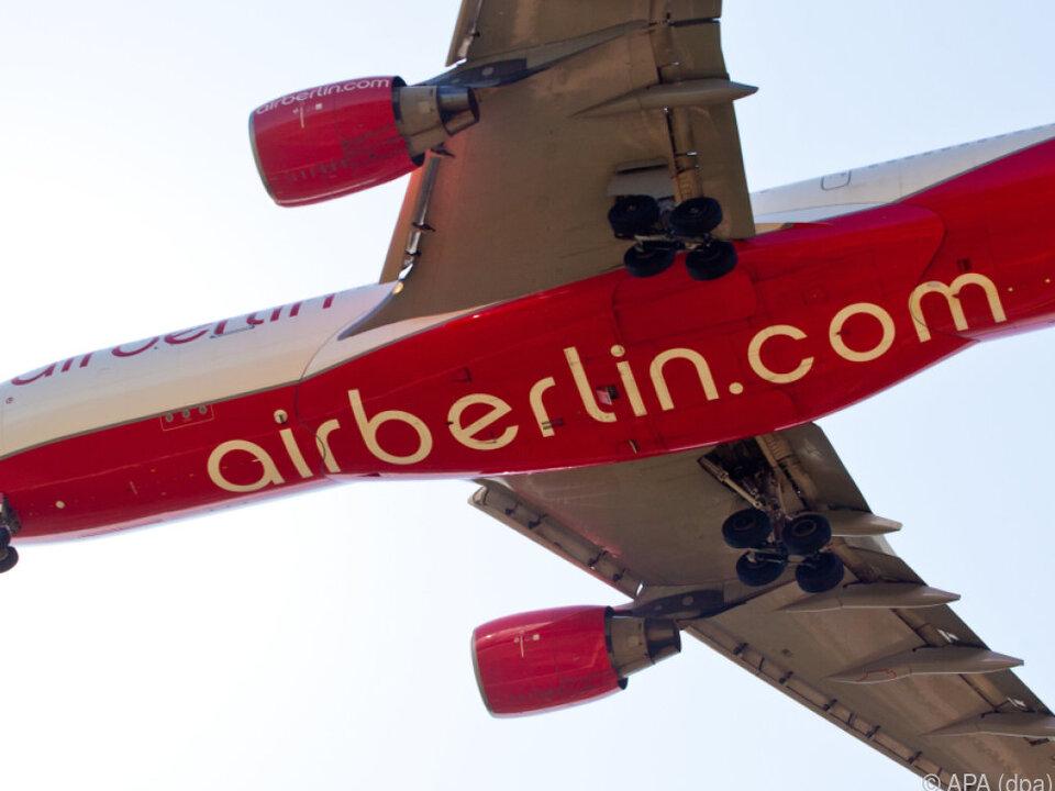 Insolvente Air Berlin muss sparen