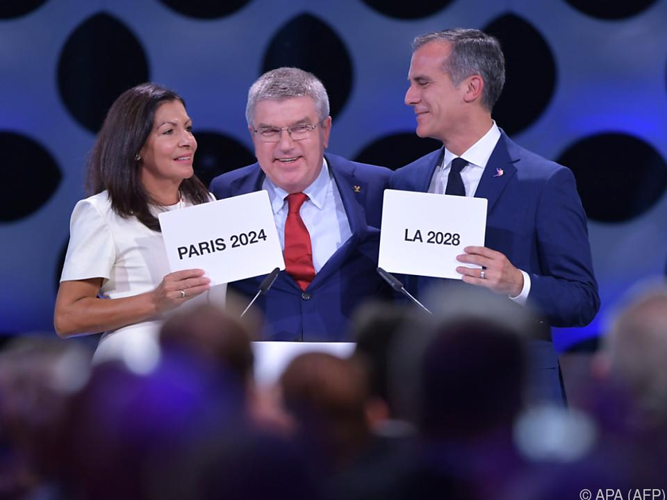 IOC-Präsident Thomas Bach hocherfreut