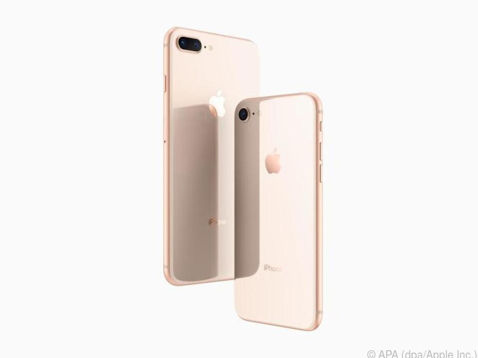 iPhone 8, 8 Plus und iPhone X verfügen über die Schnelllade-Funktion