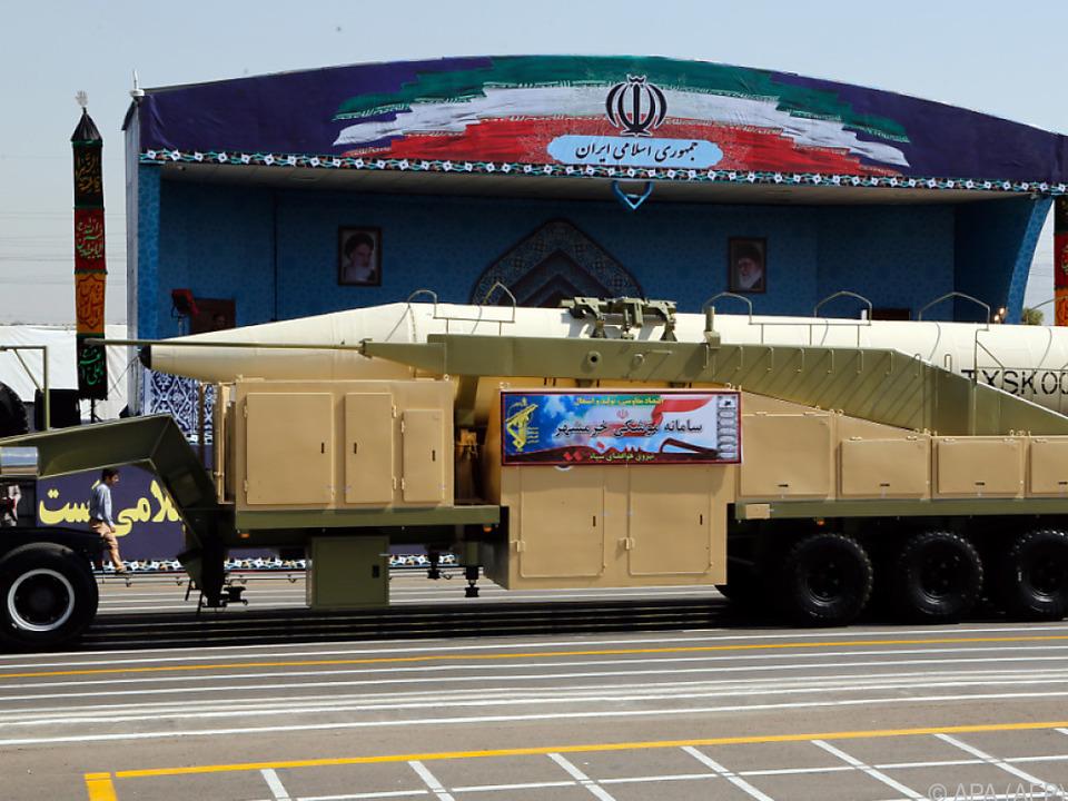 Iran ist stolz auf seine Raketen