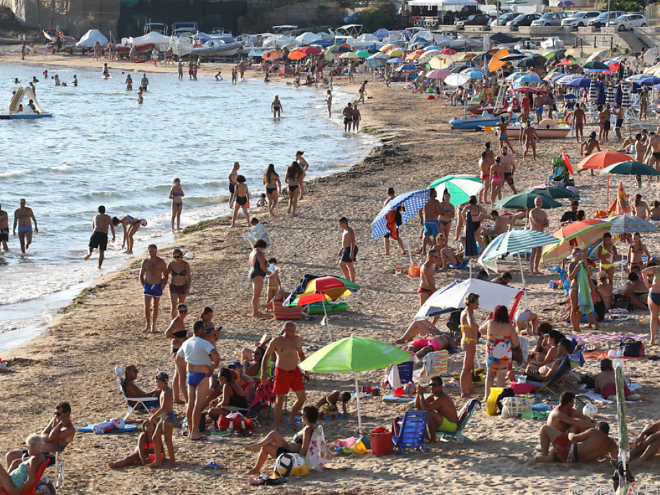 Italiens Strände in diesem Jahr wieder gut besucht