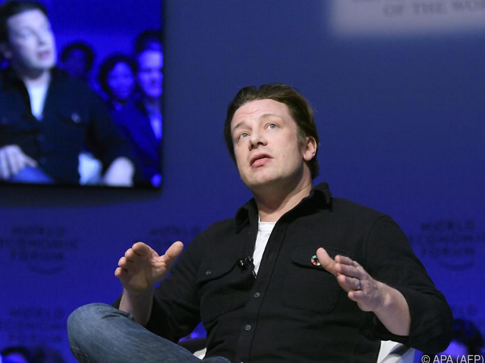 Jamie Oliver weiß offenbar für alles einen Rat