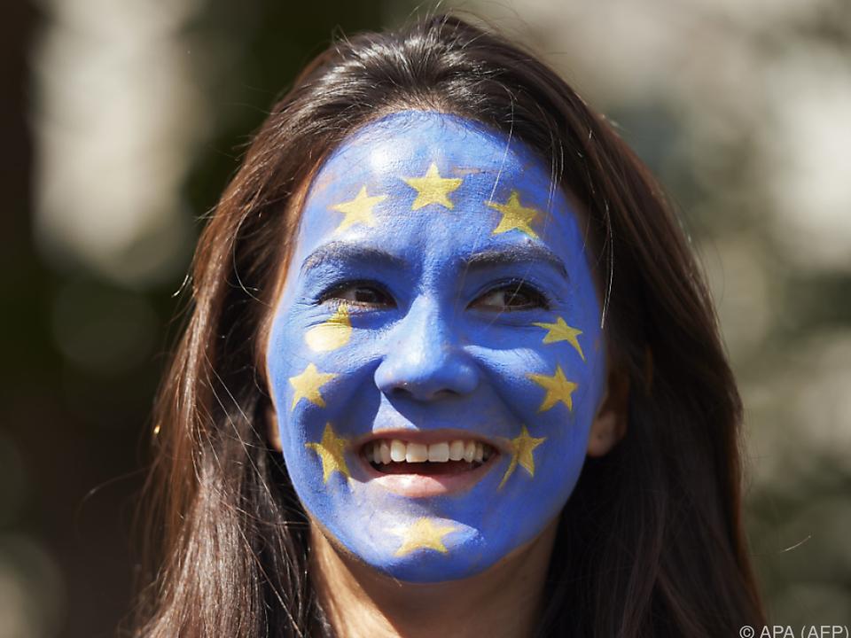 Je jünger, desto positiver gegenüber der EU