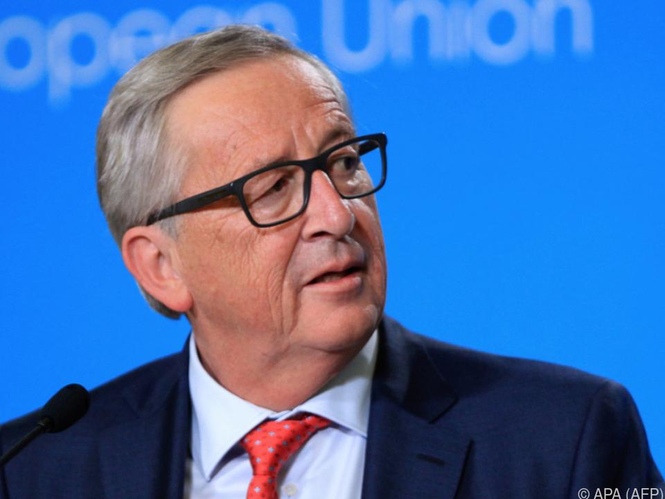 Juncker fürchtet um Brexit-Verhandlungen