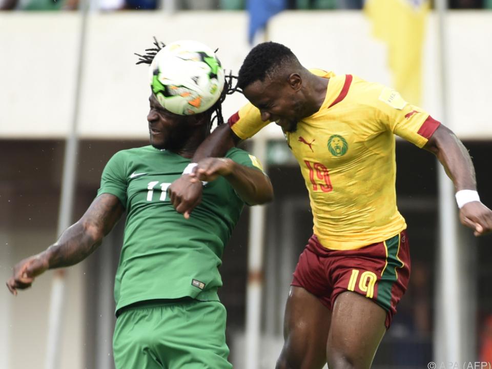 Kamerun kam in Nigeria nur zu einem 1:1