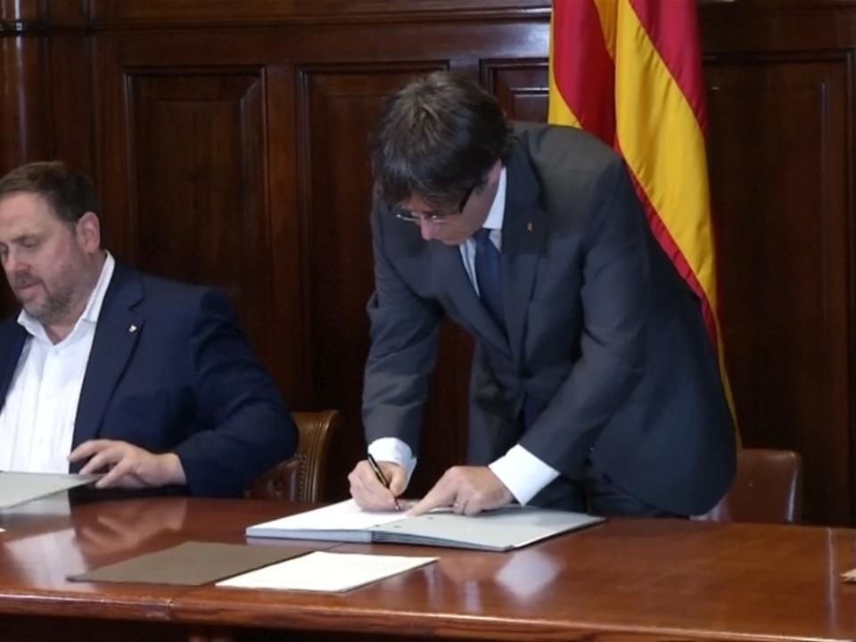 Katalonien treibt Pläne für Unabhängigkeitsreferendum voran
