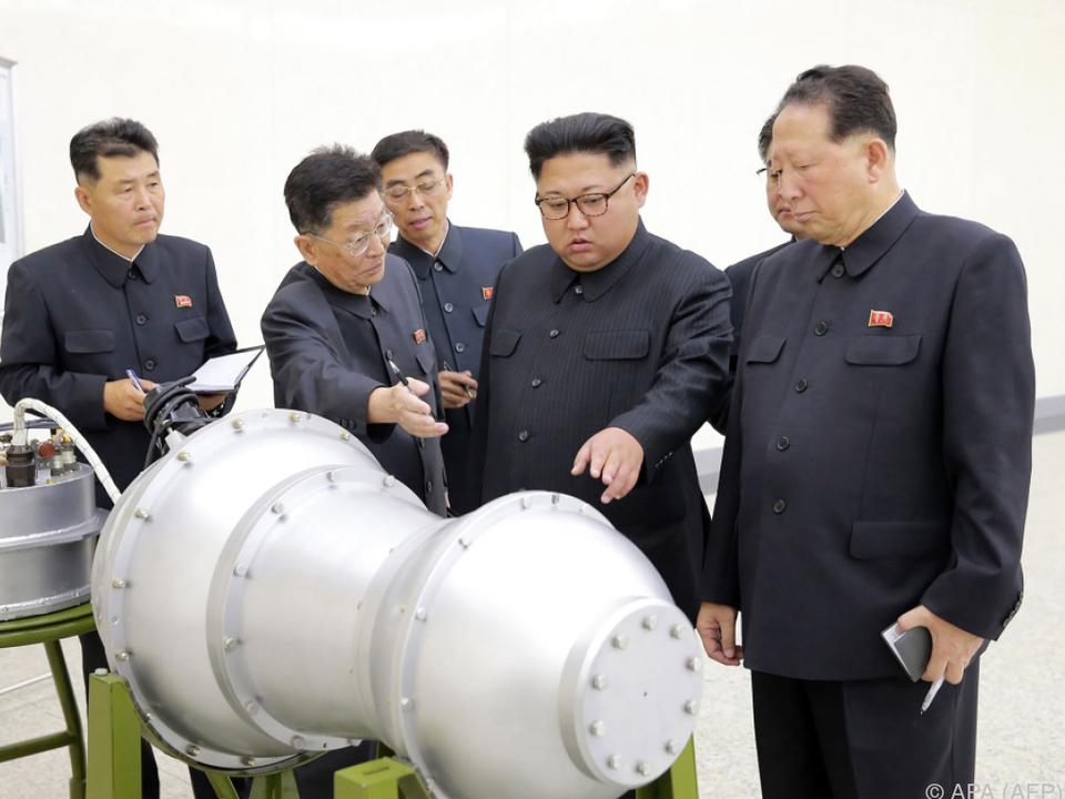 Kim Jong-un setzt Konfrontationskurs fort