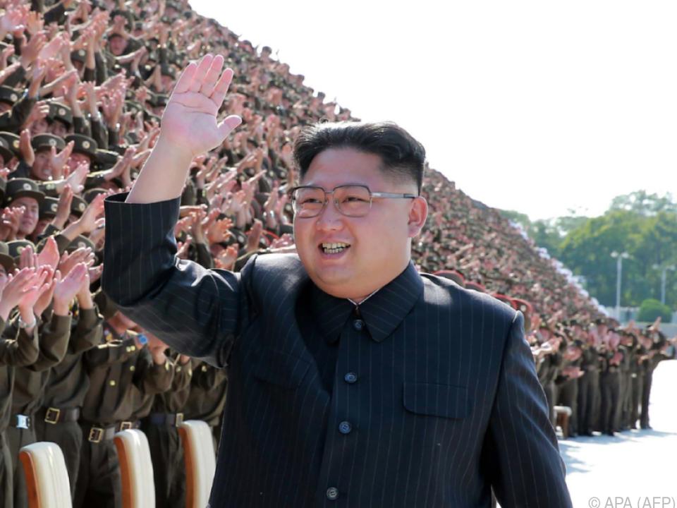 Kim Jong-un setzt seinen Konfrontationskurs fort