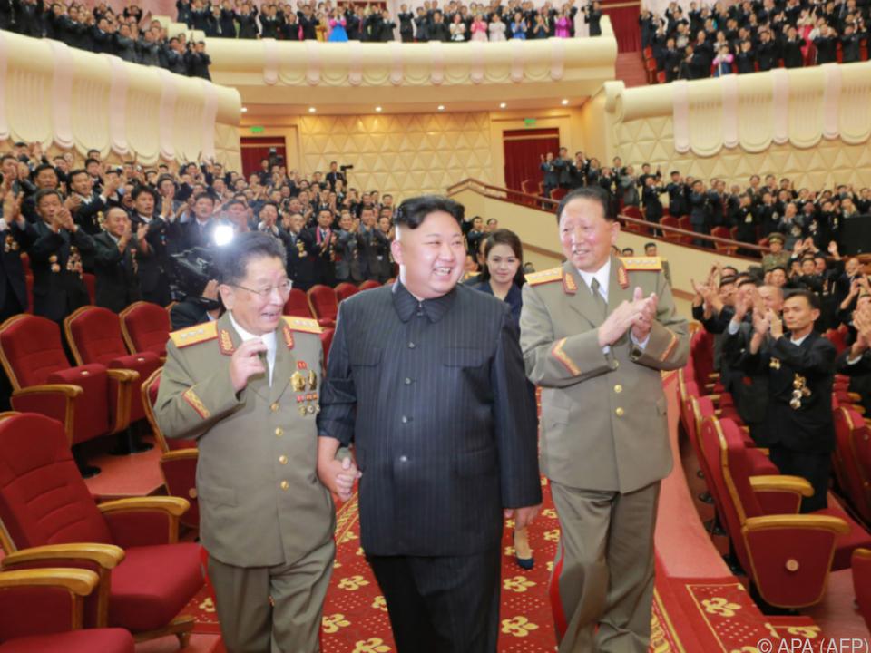 Kim Jong-un von Sanktionen nicht beeindruckt
