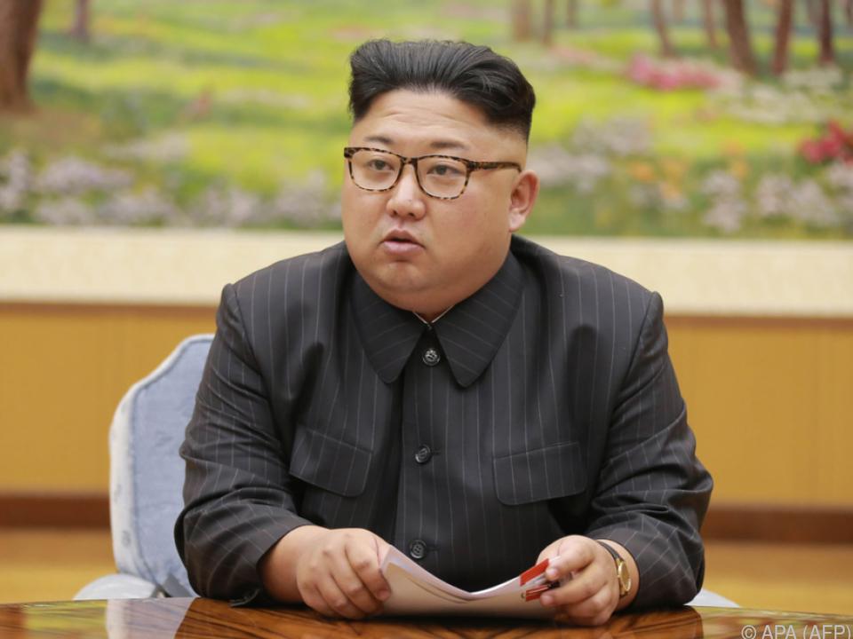 Kim sprach von einem \