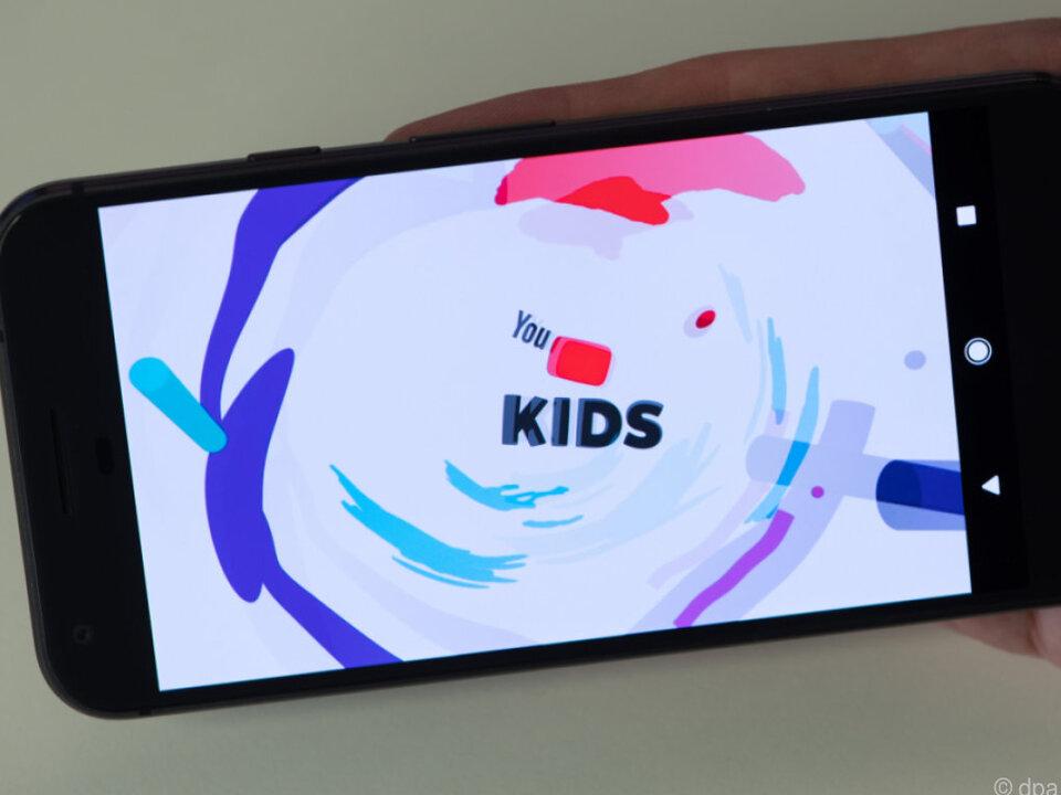 Kindern werden mit der App gesicherte Videos zur Verfügung gestellt