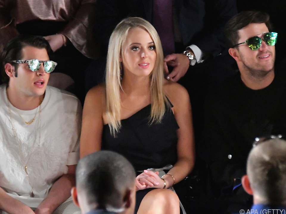 Label Taoray Wang hat es Tiffany Trump angetan
