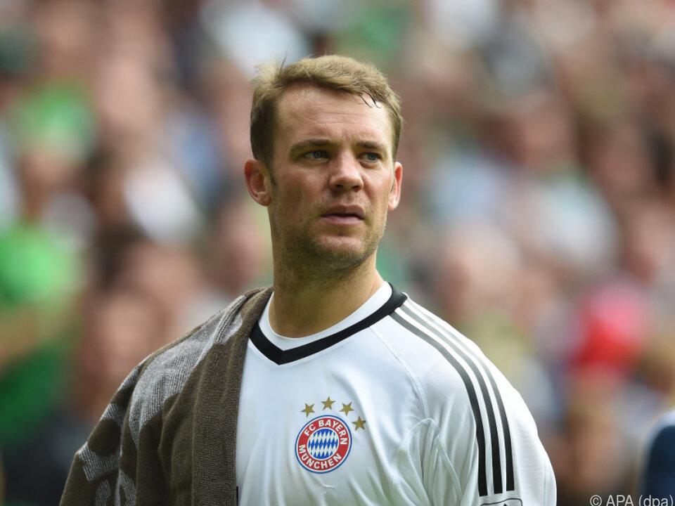 Lange Pause für Manuel Neuer