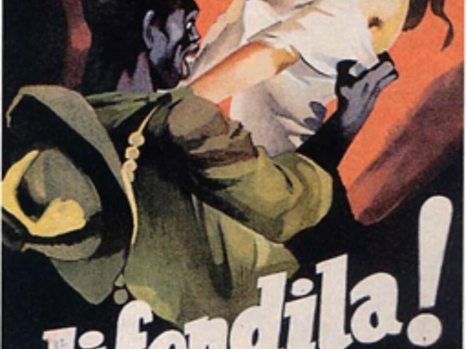 """Titelbild/""""La difesa della razza"""", anno II, n. 11, 5 aprile 1939"""