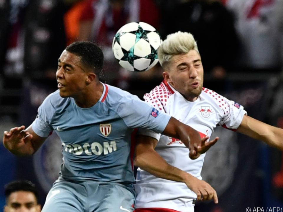 Leipzig holte gegen Monaco ein 1:1