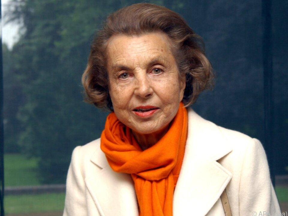 Liliane Bettencourt war einst die reichste Frau der Welt