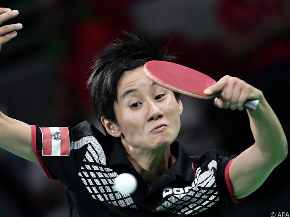 Liu Jia hatte bei ihrem Einzel alles im Griff
