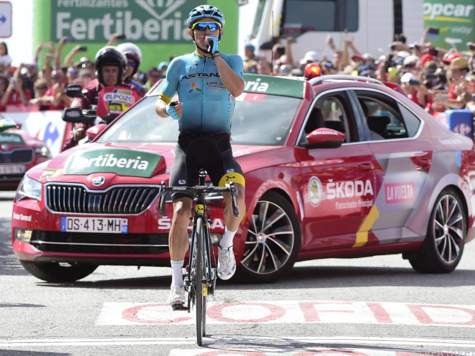 Lopez sigete auf der 15. Etappe