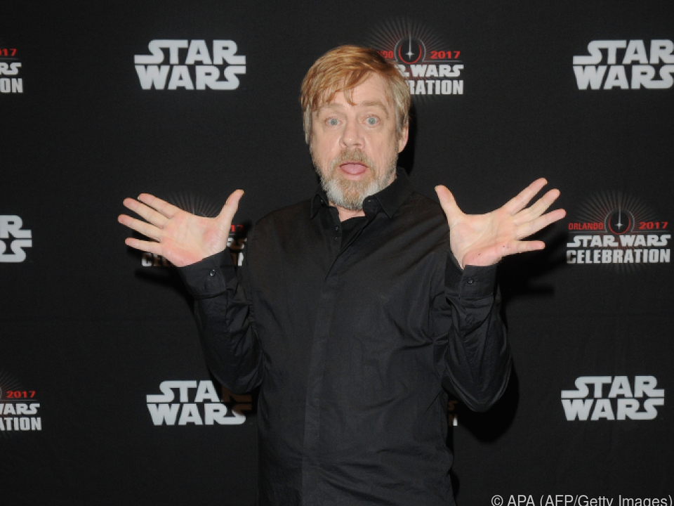 Mark Hamill spielt Held Luke Skywalker nur