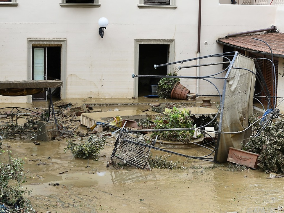 Massive Überschwemmungen auch in Italien