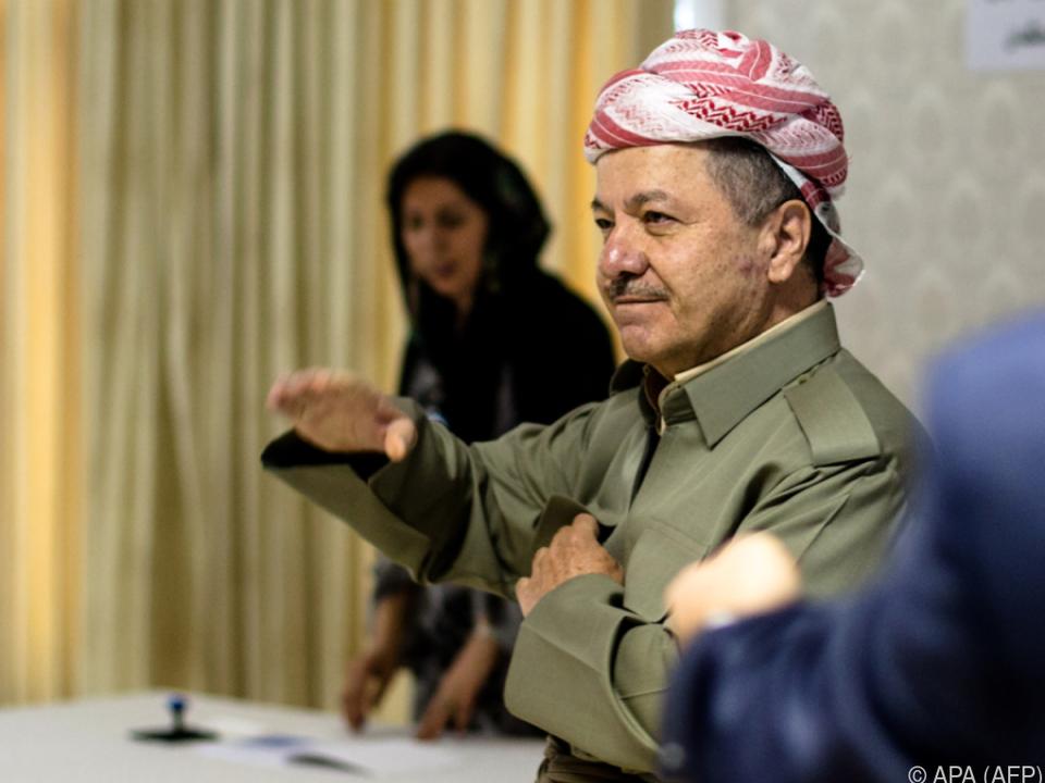 Massud Barzani rief irakische Regierung zu Verhandlungen auf