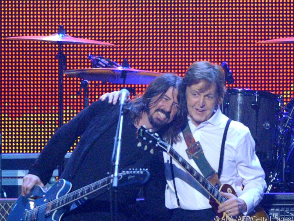 McCartney brachte Grohl zum Laufen - wortwörtlich