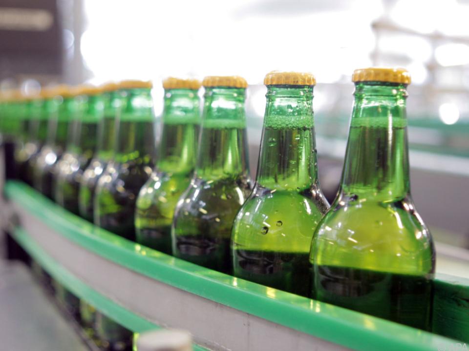 Mehr Bier, Mineralwasser und Limonaden abgesetzt