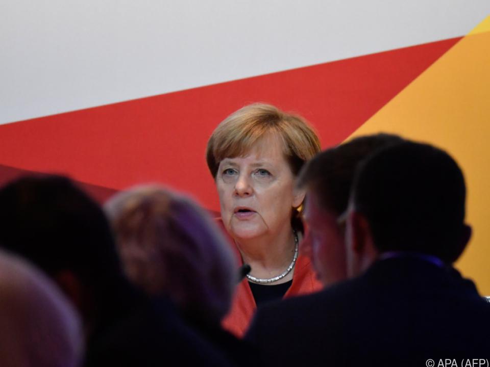 Merkel sieht \