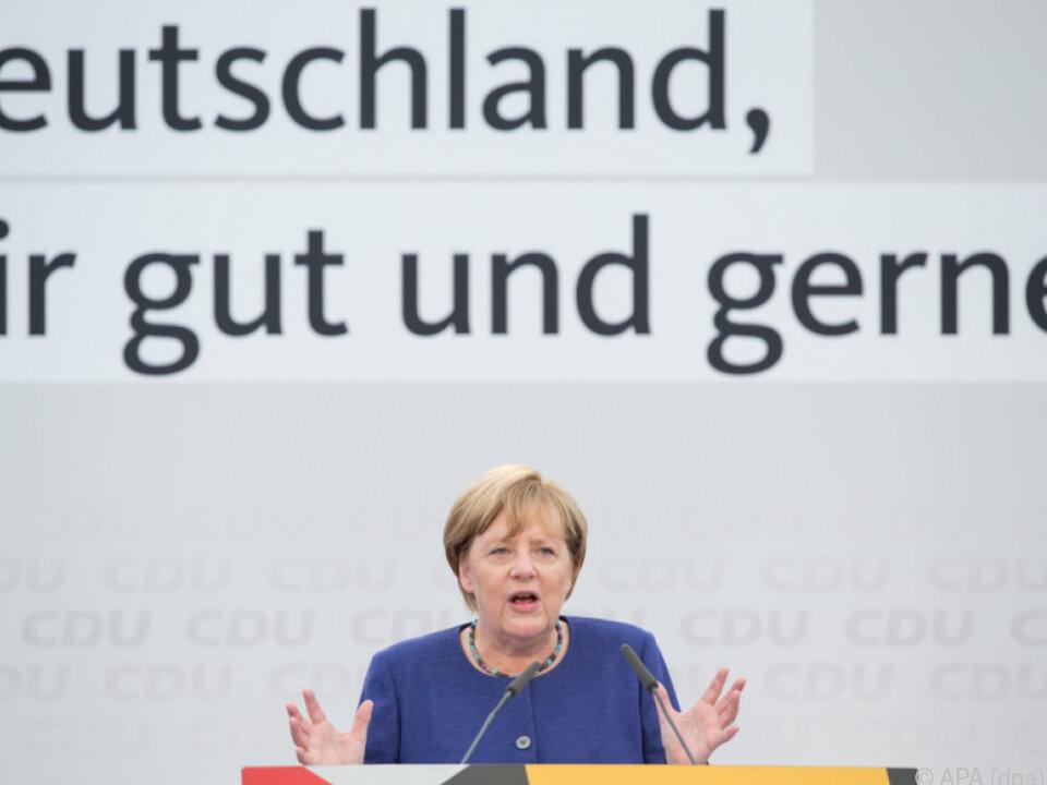 Merkel stolz auf Meinungsfreiheit